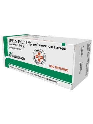Ifenec 1% Econazolo Nitrato Polvere Cutanea Antimicotica 30 grammi