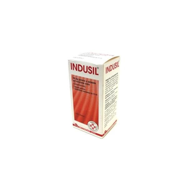 Indusil Gocce 30 mg Cobamamide Vita B12 Polvere e Solvente per Soluzione Orale 15 ml