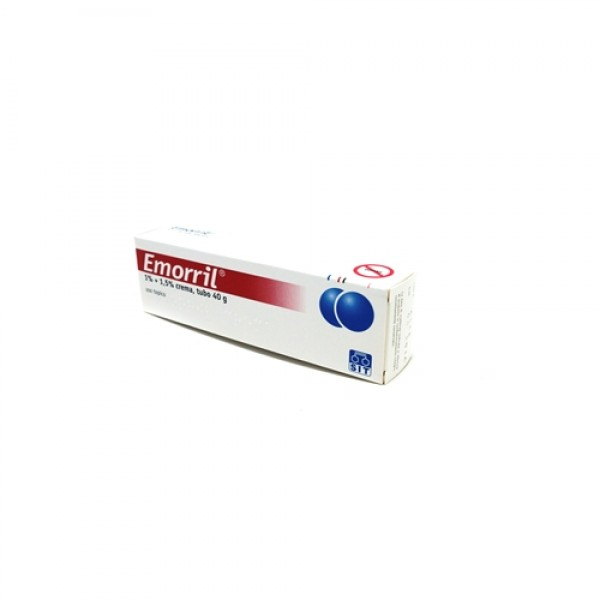 Emorril Crema Rettale 1% + 1,5% Lidocaina Cloridrato 40 grammi