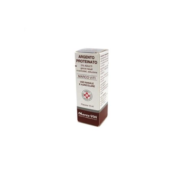 Argento Proteinato Viti 2% Adulti Decongestionante Gocce 10 ml