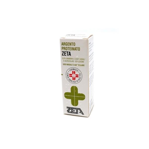 Argento Proteinato Zeta 0,5% Gocce Nasali e Auricolari 10 ml