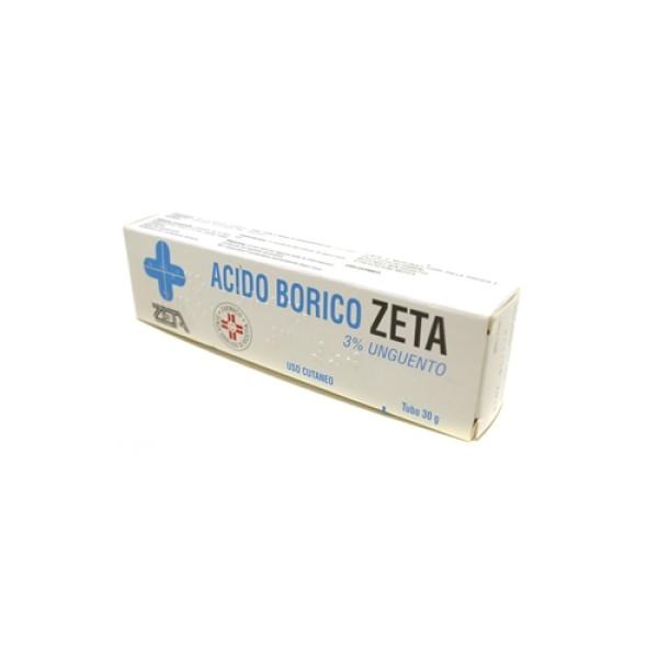Acido Borico Zeta 3% Unguento 30 grammi