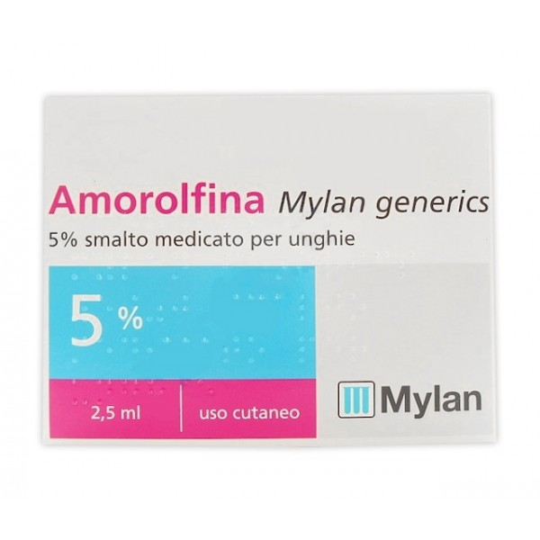 Amorolfina Mylan Smalto Antimicotico Unghie 2,5 ml