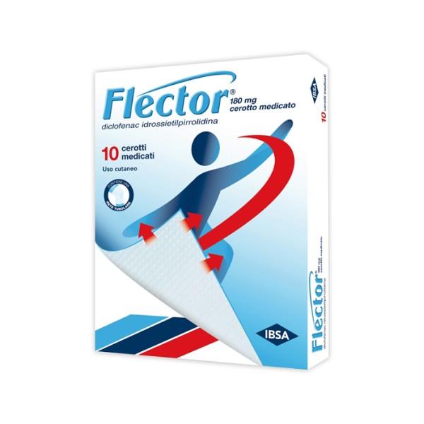 Flector 10 Cerotti Medicali Articolazioni Muscoli e Legamenti 180 mg