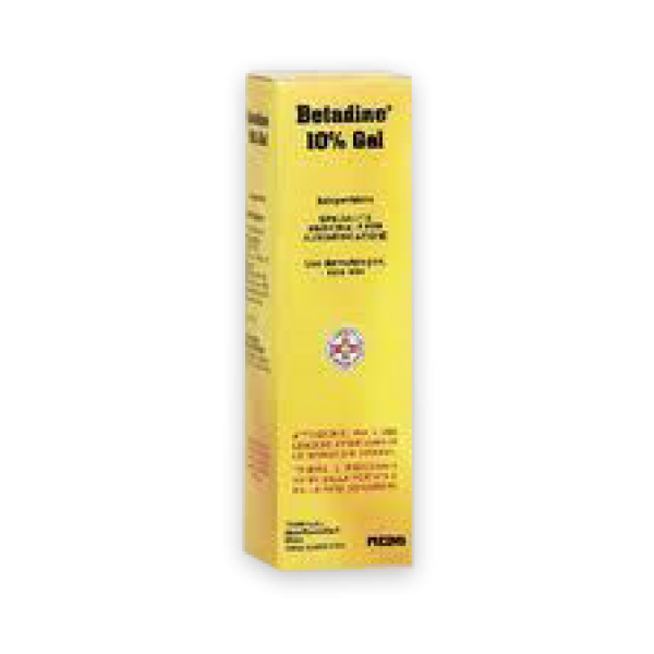 Betadine Gel Cutaneo 10% 100gr