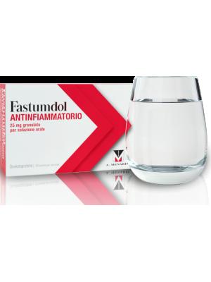 Fastumdol Antinfiammatorio 25 mg Granulato per Soluzione Orale 20 Buste