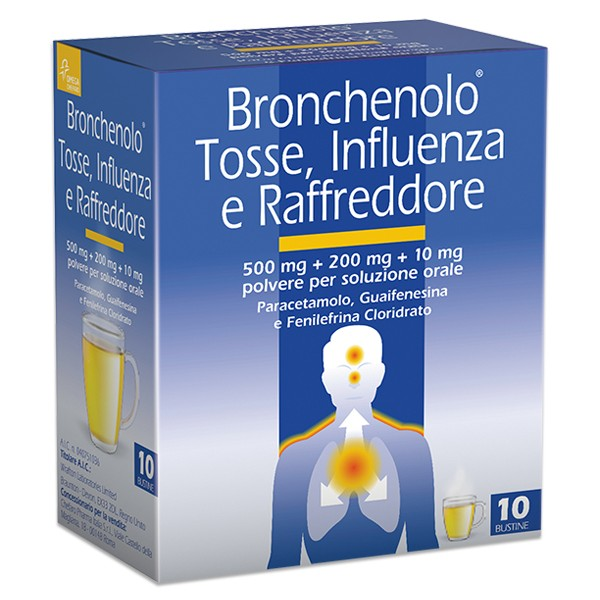 BRONCHENOLO TOSS INFL RAF*10BS