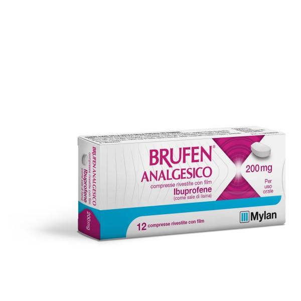 Brufen Analgesico 200 mg 12 compresse