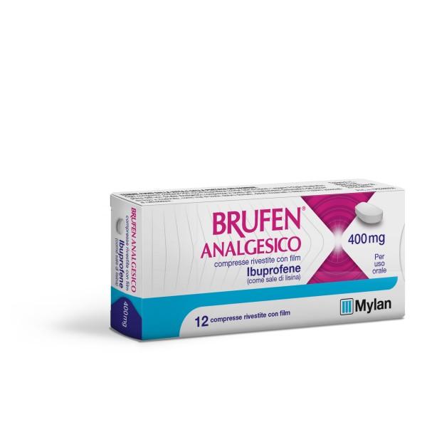 Brufen Analgesico 400 mg 12 compresse