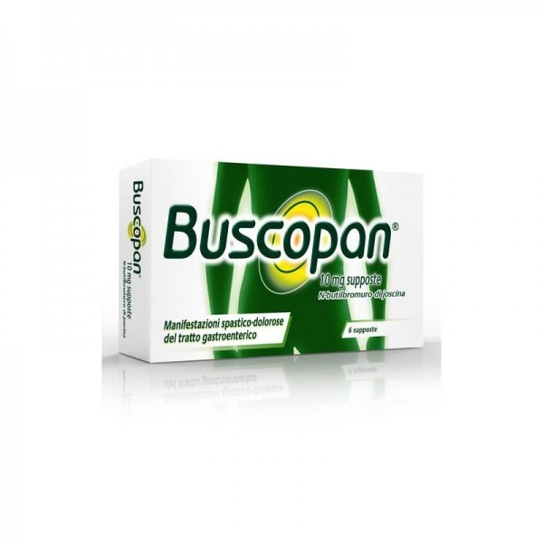 Buscopan 10mg Scopolamina Antispastico 6 Supposte