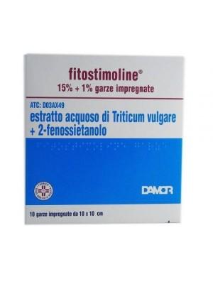 Fitostimoline 15% Garze Impregnate 10 pezzi