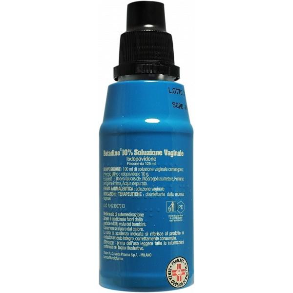 Betadine Soluzione Vaginale Disinfettante 10% 125ml