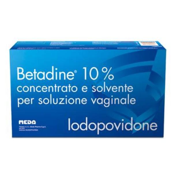 Betadine 10% Soluzione Vaginale 5 Flaloidi + 5 Flaconi + 5 Cannule