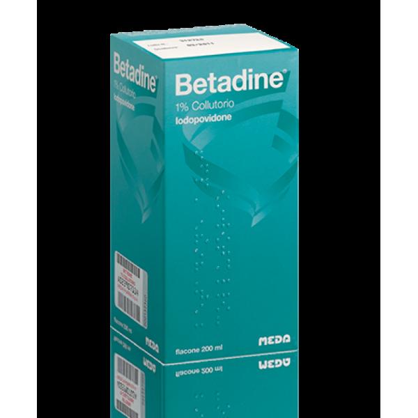 Betadine 1% Iodopovidone Collutorio Orale 200 ml