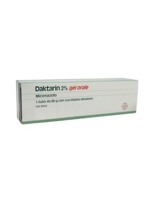 Daktarin 2% Gel Orale 20 mg/g Miconazolo Antimicotico 80 grammi