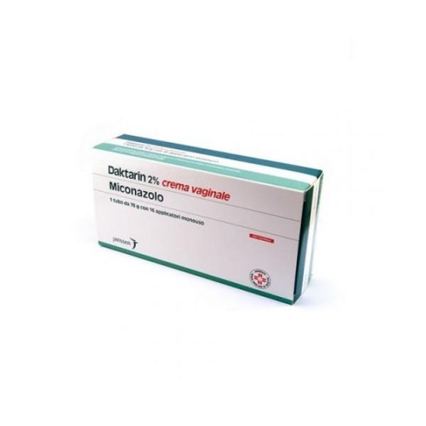 Daktarin Crema Vaginale 20 mg/g Miconazolo Nitrato Antimicotico 78 grammi + 16 Applicatori