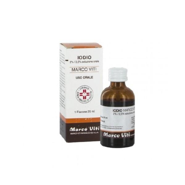 Iodio Viti 2% / 2,5% Soluzione Orale 25 ml
