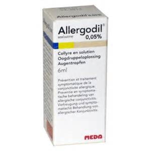 Allergodil Collirio 0,05% Azelastina Flacone 6 ml
