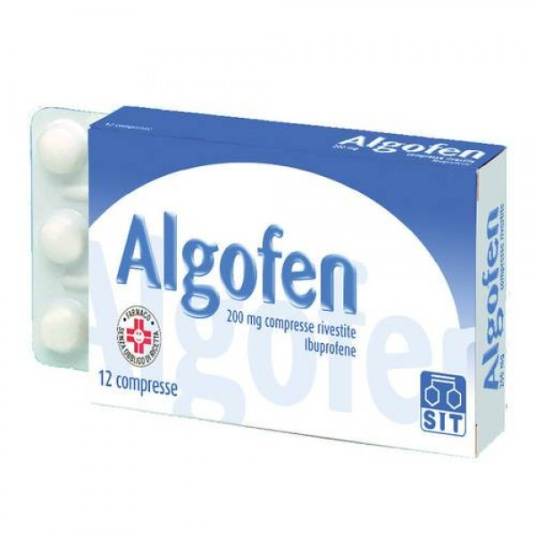 Algofen 200 mg Ibuprofene Analgesico 24 Compresse Rivestite
