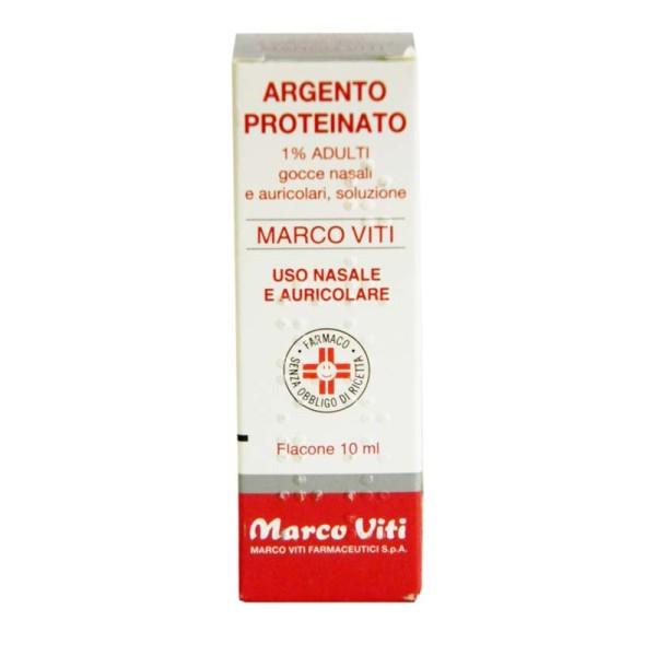 Argento Proteinato Viti 1% Adulti Decongestionante Gocce 10 ml