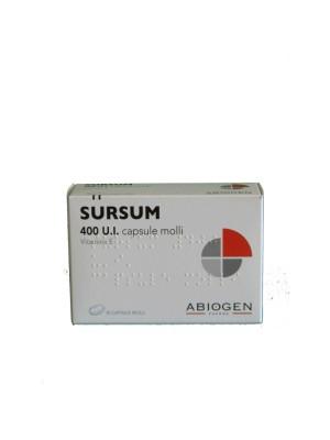 Sursum 400 UI 30 Capsule Molli - Integratore Vitamina E