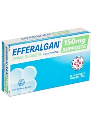 Efferalgan Prima Infanzia 150 mg Paracetamolo 10 Supposte