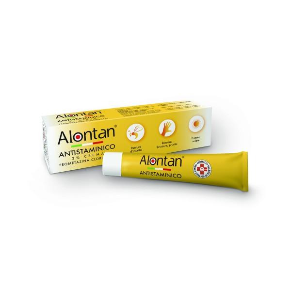 Alontan Antistaminico 2% Crema Uso Topico 30 grammi