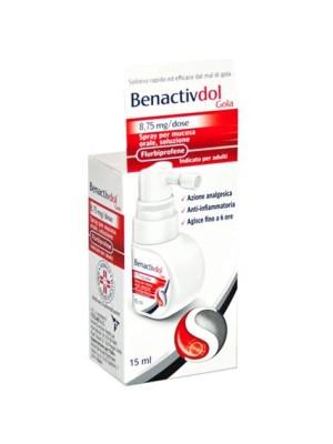 BenactivDol Gola Spray per Mucosa Orale 15 ml