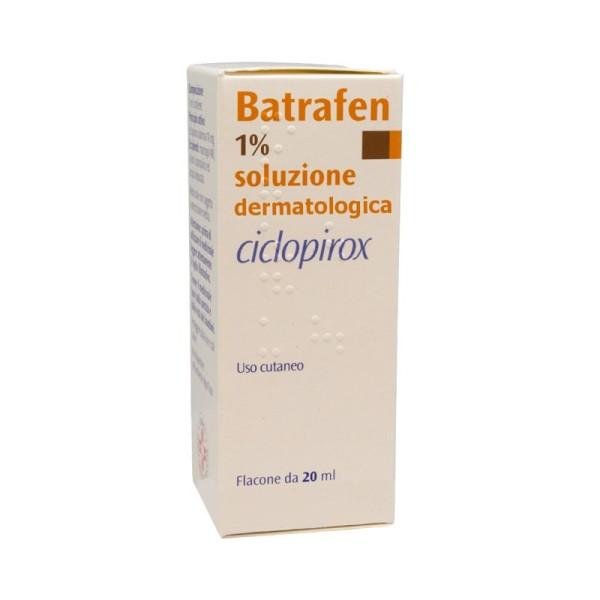 Batrafen Soluzione Cutanea 1% Ciclopirox Antimicotico 20 ml