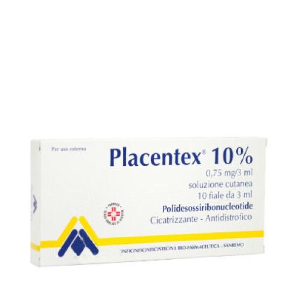 PLACENTEX 10% 0,75mg 10f.3ml