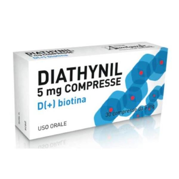 Diathynil 5 mg D+ Biotina Dermatite Seborroica 30 Compresse