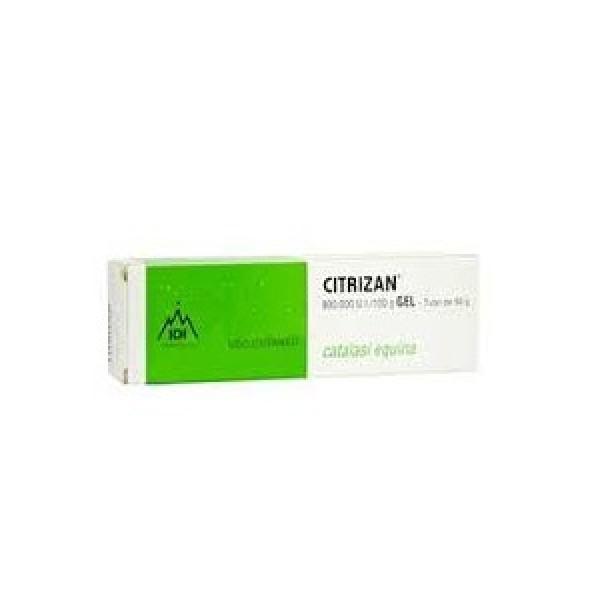Citrizan Gel Cicatrizzante Catalasi Equina 50 grammi