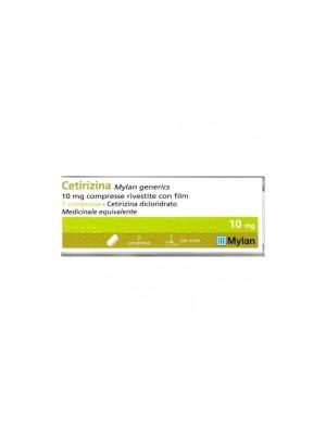 Cetirizina 10 mg Mylan Antistaminico 7 Compresse