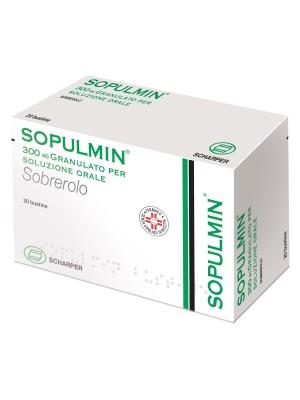 Sopulmin Granulato per Soluzione Orale 300 mg Sobrerolo 20 Bustine