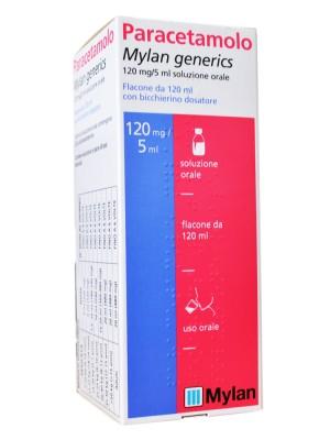 Paracetamolo Mylan Sciroppo 120 ml