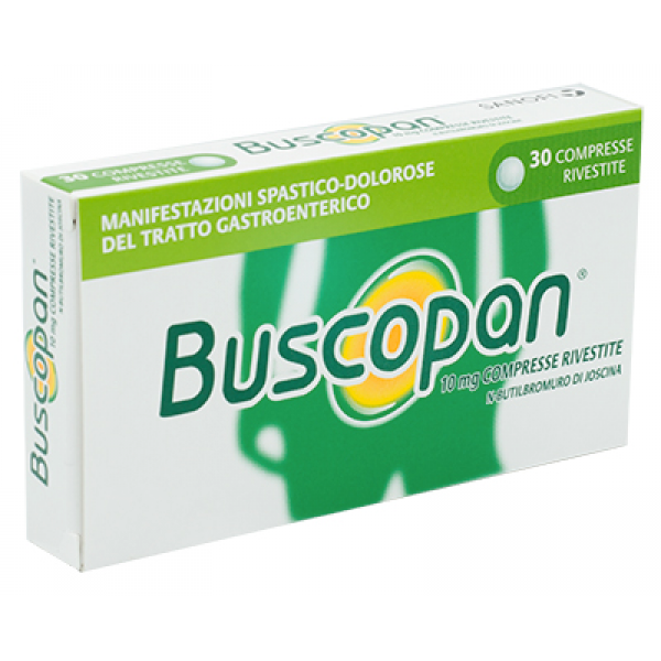 BUSCOPAN*10mg 30 Cpr     F1000