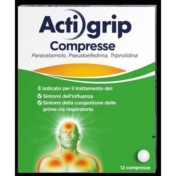 Actigrip 12 Compresse