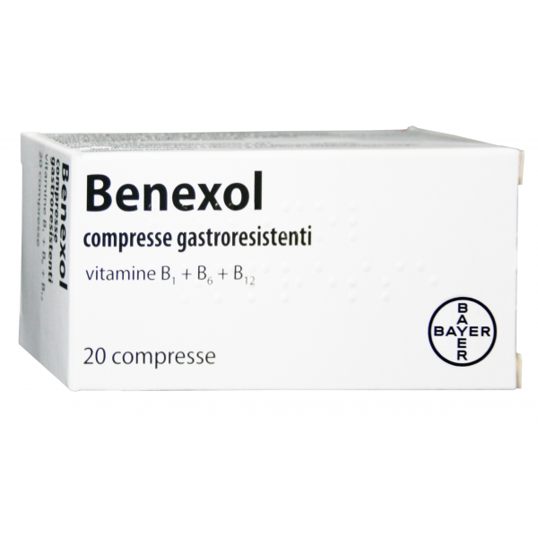 Benexol Vitamina B 20 Compresse Gastroresistenti