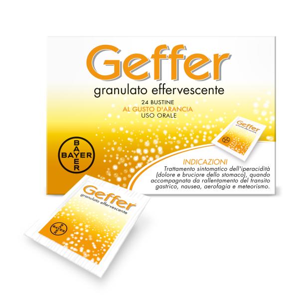 Geffer Granulato Effervescente 24 Bustine