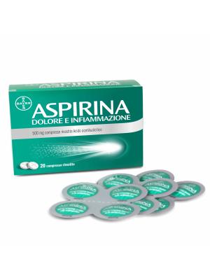 Aspirina Dolore e Infiammazione 500 mg 20 Compresse