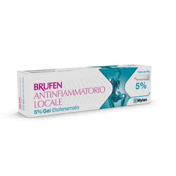 Brufen Antinfiammatorio Locale 5% Gel Tubo 40 grammi