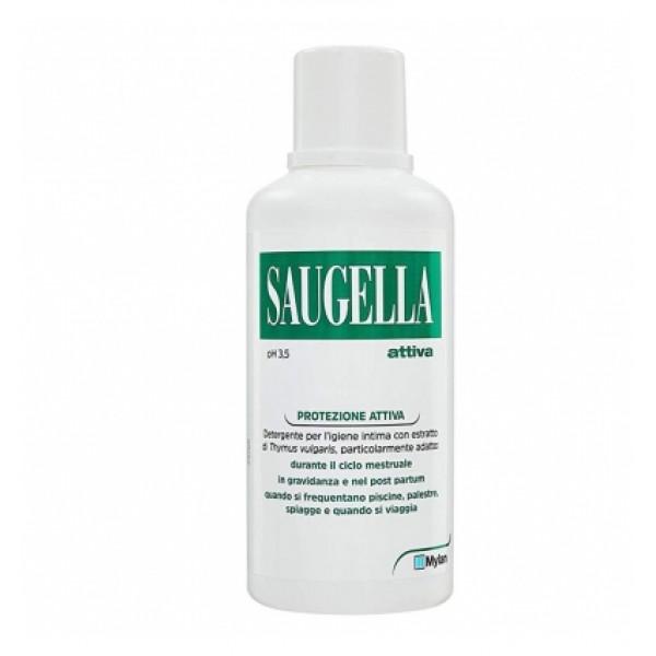 Saugella Attiva Detergente Intimo Antibatterico 500ml