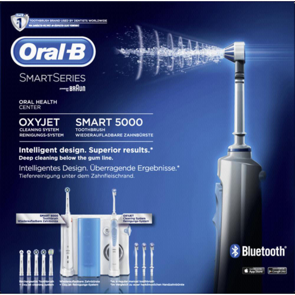 Oral B Oxyjet Smart5 Spazzolino Elettrico + Idropulsore