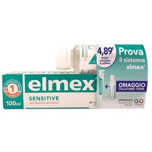 Elmex Sensitive Special Pack Dentifricio 100ml + Collutorio 100ml