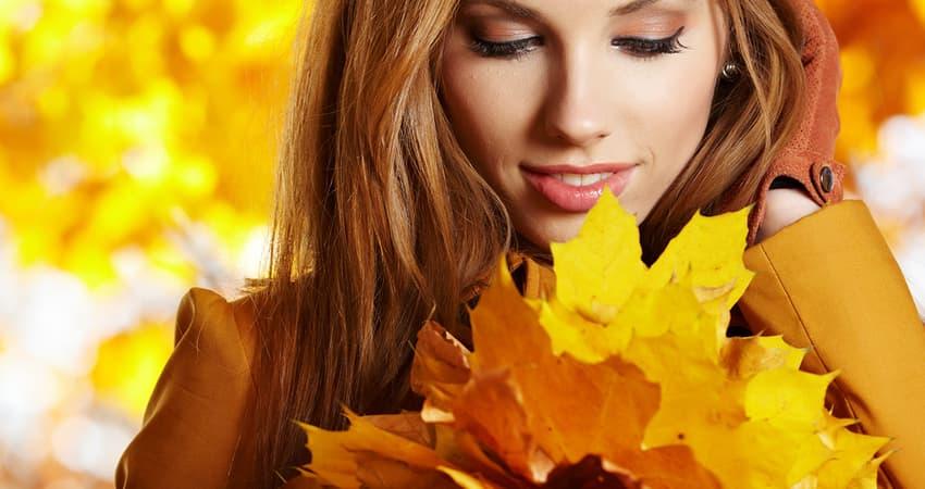 è molto importante preparare la pelle all'autunno con la corretta skincare
