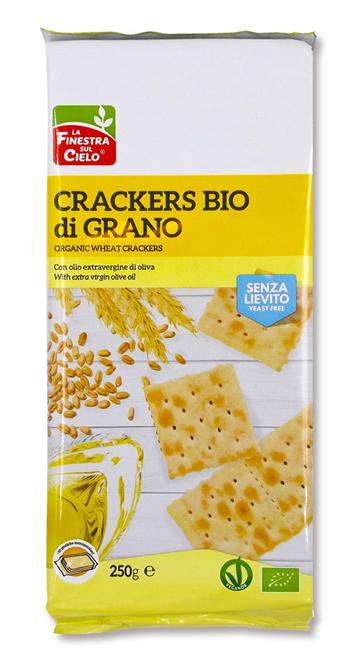 FINESTRA SUL CIELO Crackers Grano S/L 250g