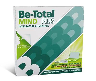 BeTotal Mind Plus Integratore Alimentare Fosfoserina 20 Bustine