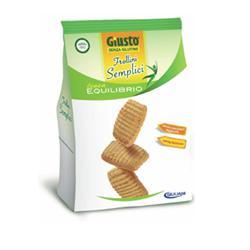 Giusto Senza Glutine Frollini Semplici Gluten Free 250 grammi