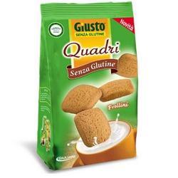 Giusto Senza Glutine Quadri Frollini Semplici Gluten Free 200 grammi