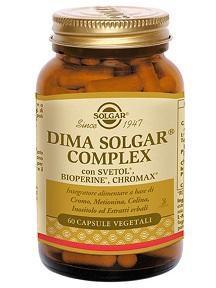 Solgar Dima Solgar Complex Integratore Metabolismo Grassi 60 Capsule